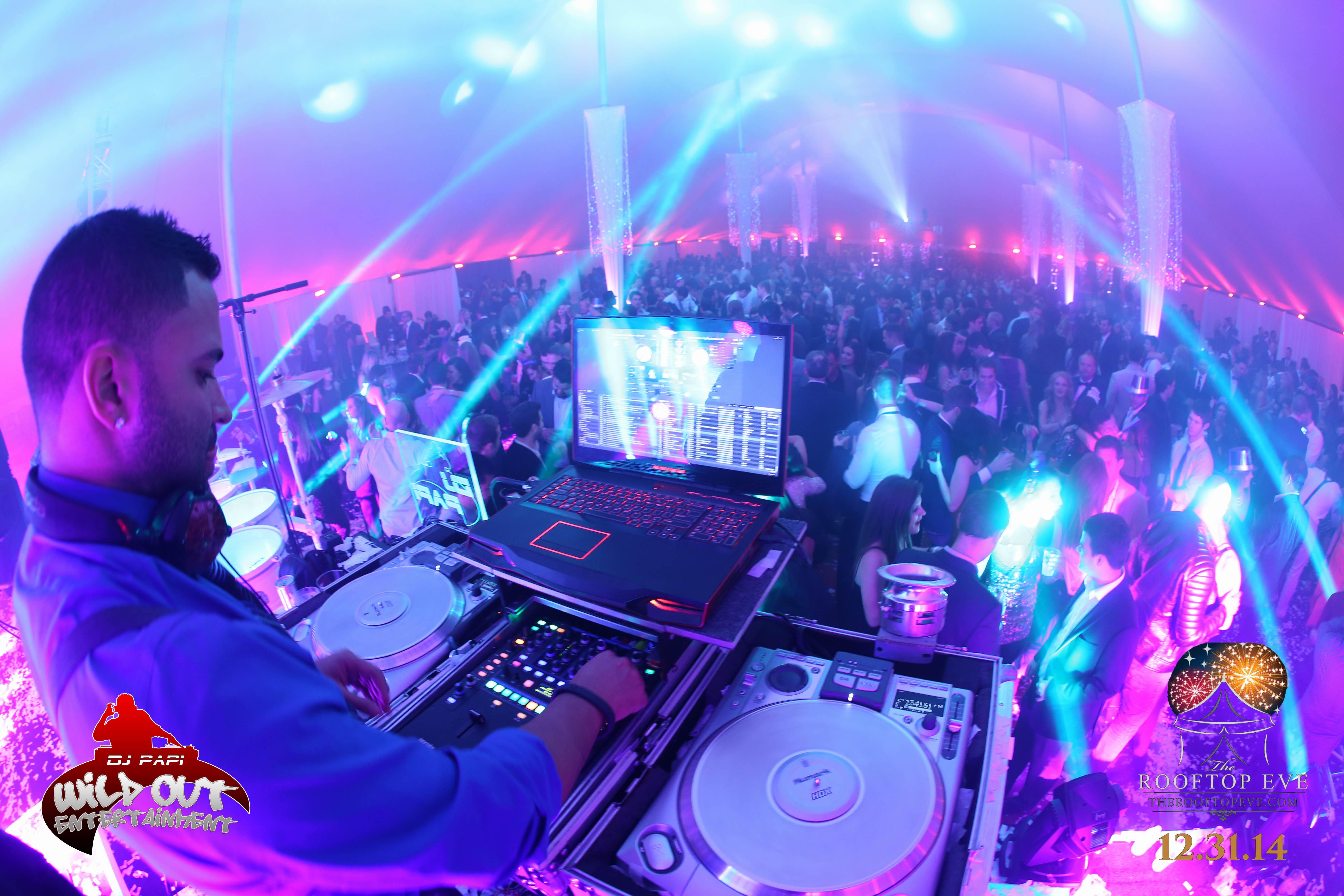 DJ Papi & DJ CrizV | The Rooftop Eve | 12/31/15 | Tampa, FL