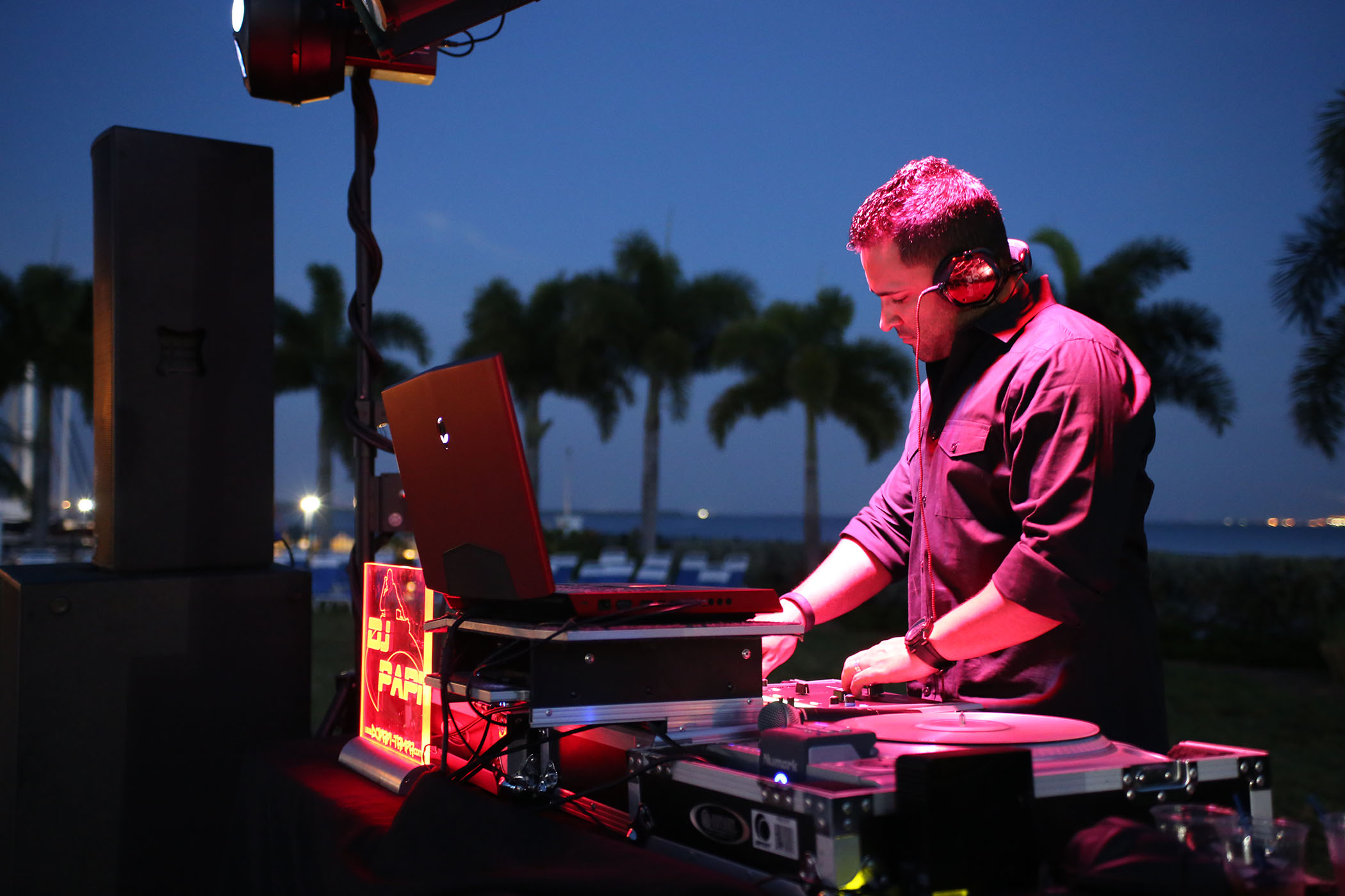 DJ Papi at Tampa Yacht & Country Club